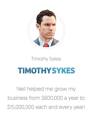 Tim Sykes Revenue