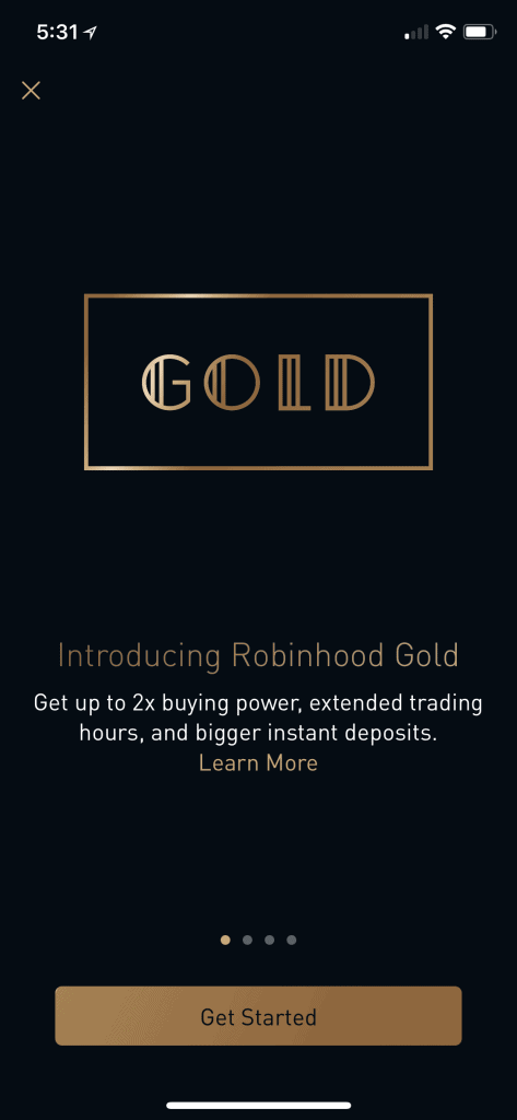 Robinhood Gold