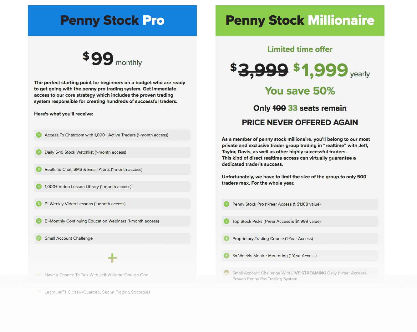 PennyPro Pricing