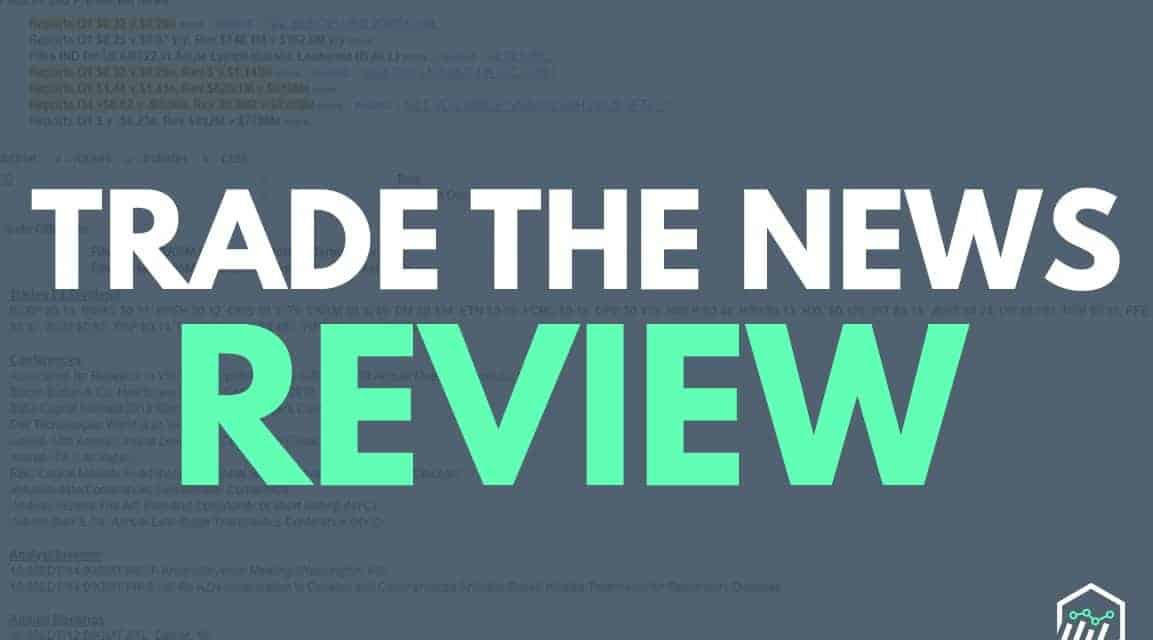 The News Review >> Tradethenews Review A Newsfeed For Experienced Traders