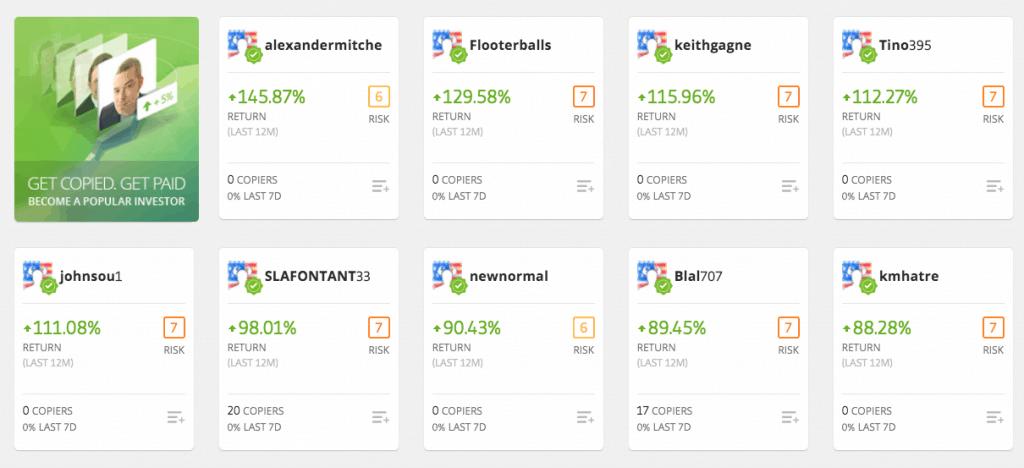 etoro trader profiles