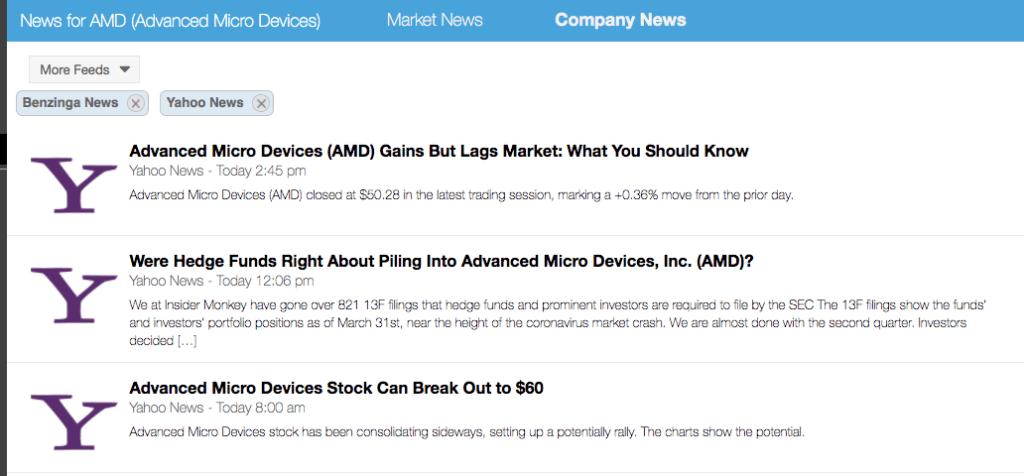 Stock Rover News