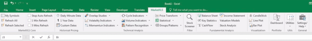 MarketXLS Review - Is an Excel Based Trading Tool Realistic?