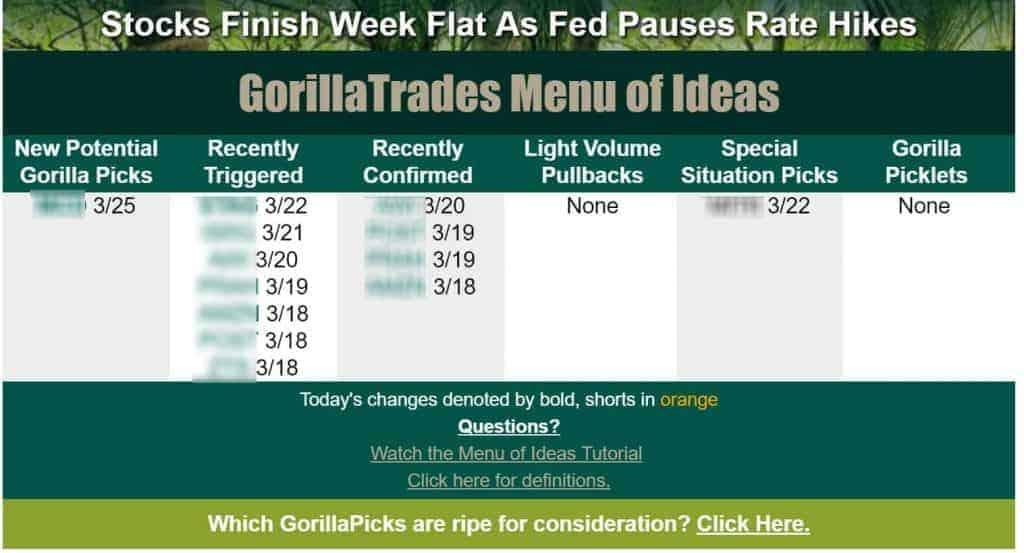 Gorilla Trades Email