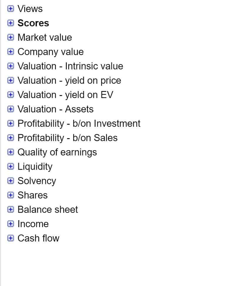 Uncle Stock Metrics