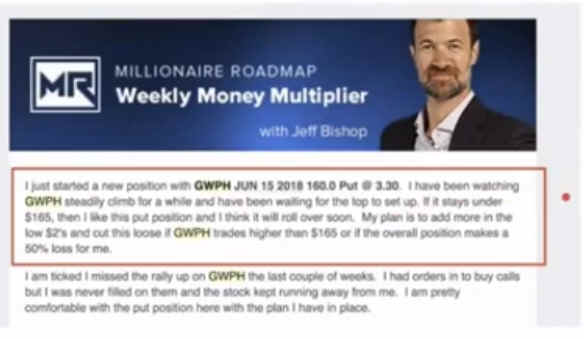 Weekly Money Multiplier Trade Alert