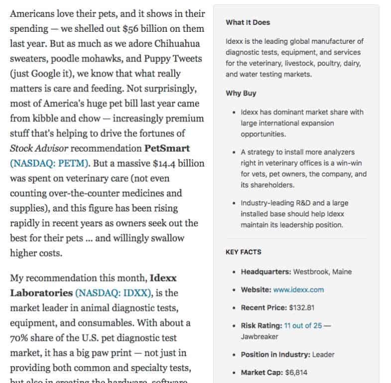 Motley Fool vs. Morningstar - Motley Fool Research Report