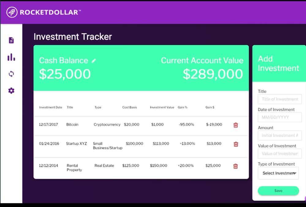 Rocket Dollar Platform