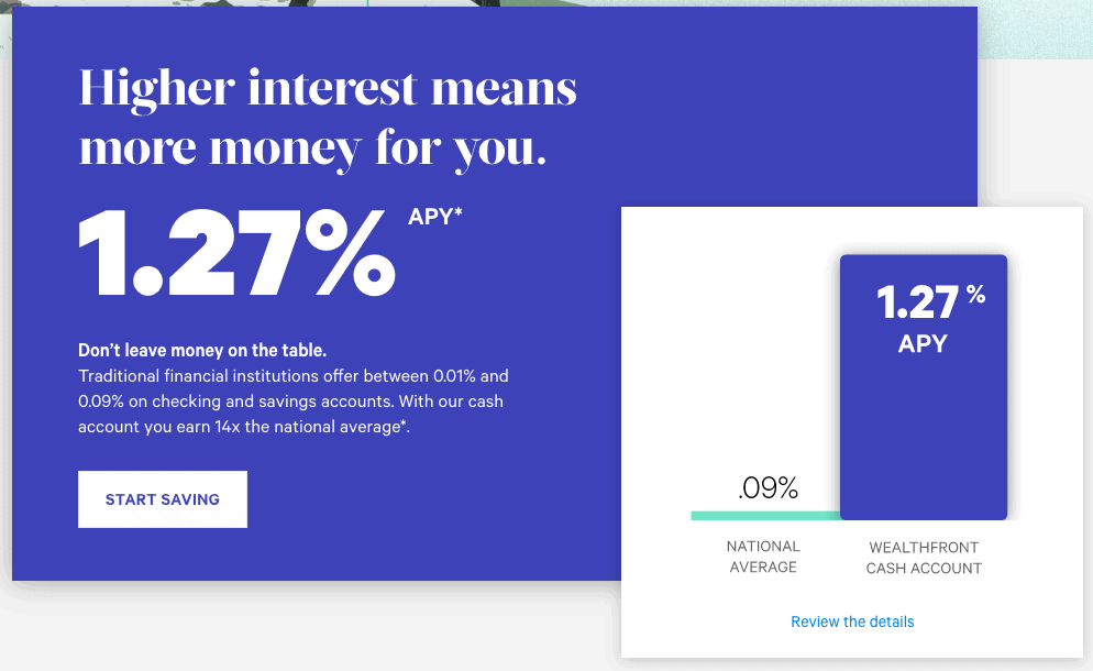 Wealthfront Savings Account