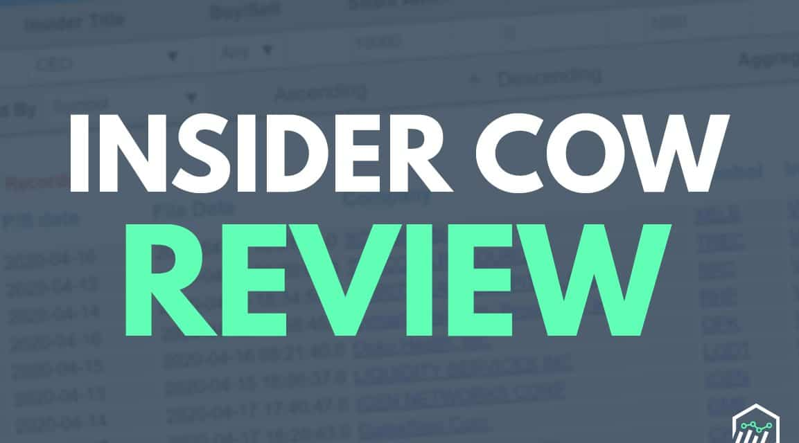 InsiderCow Review – A Tool for Tracking Insider Trading