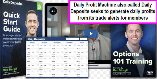 Daily Profit Machine Intro