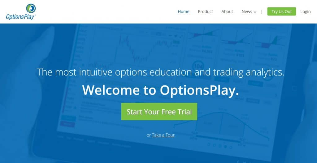 OptionsPlay Homepage
