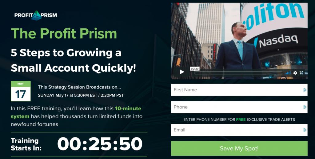 Profit Prism Sign Up