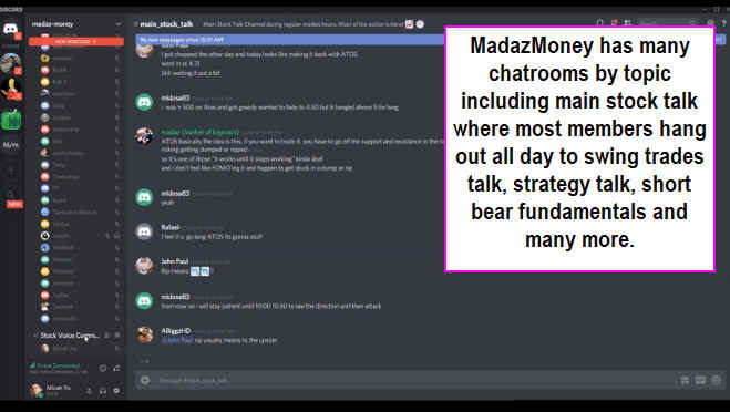 Madaz Money Chatroom