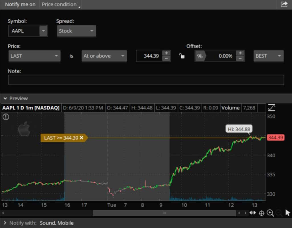 Trade Ideas vs ThinkorSwim - ThinkorSwim Alerts