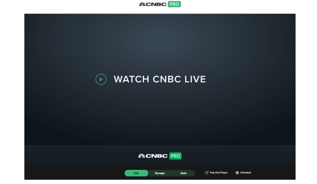 CNBC Pro - Live Streaming