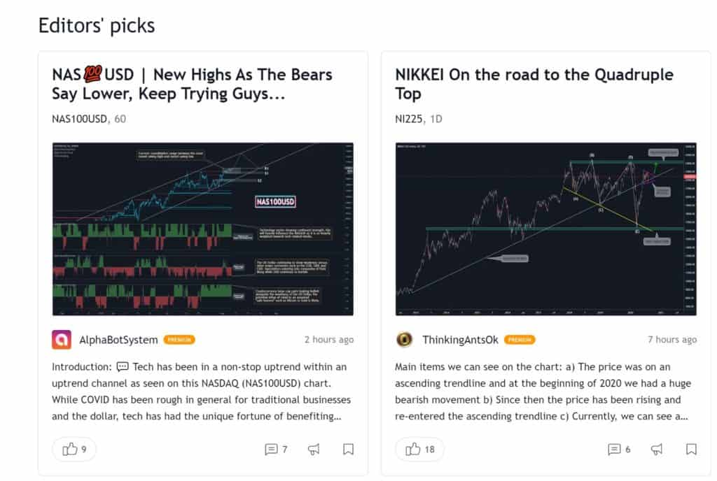 TC2000 vs TradingView - TradingView Crowdsourcing