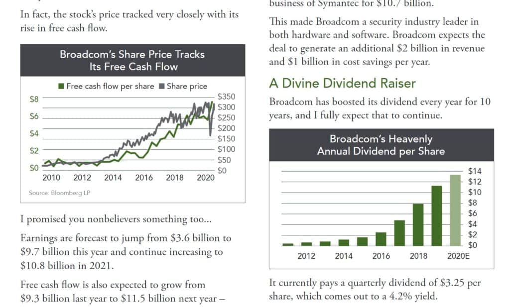 The Oxford Income Letter Broadcom Newsletter