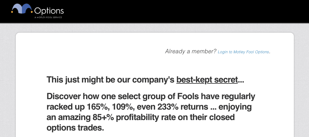 Motley Fool Options Review