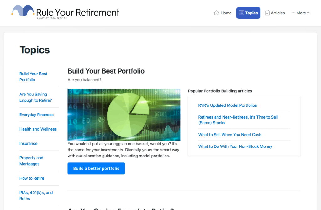 Motley Fool Rule Your Retirement Guides
