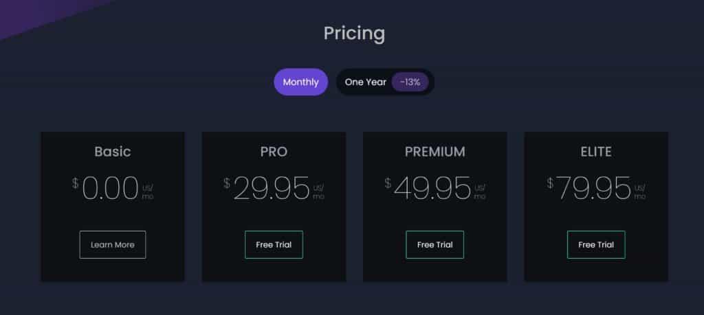 TraderSync Pricing