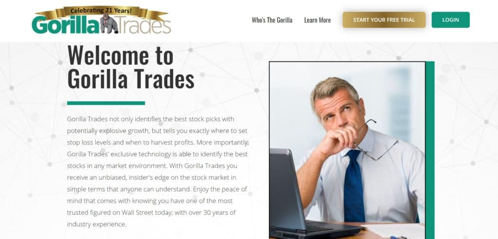 GorillaTrades vs The Motley Fool Stock Advisor - GorillaTrades