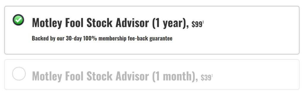 GorillaTrades vs The Motley Fool Stock Advisor - Stock Advisor Pricing