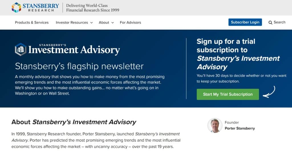 The Motley Fool vs Stansberry Research - Stansberry's Investment Advisory