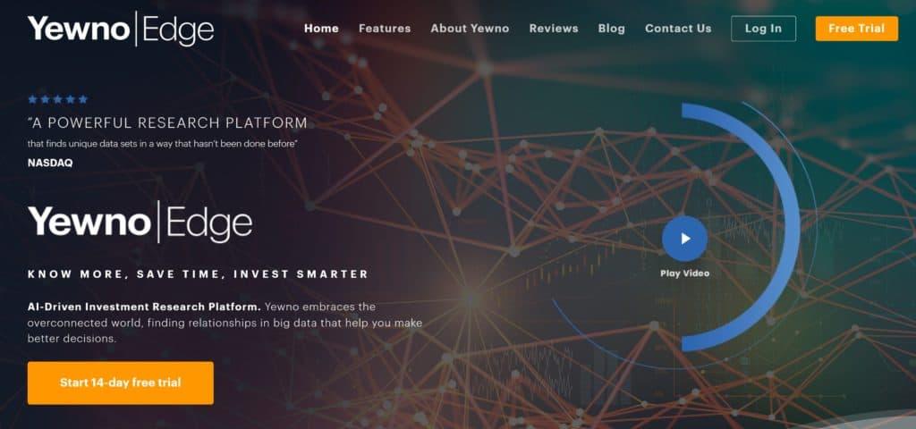 Yewno Edge - Homepage