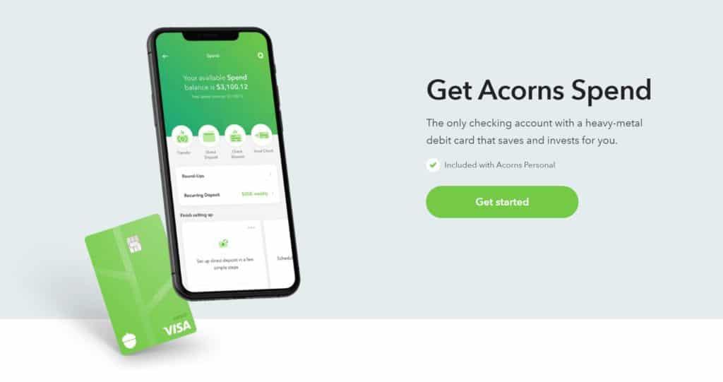 Stash vs Acorns - Acorns Spend