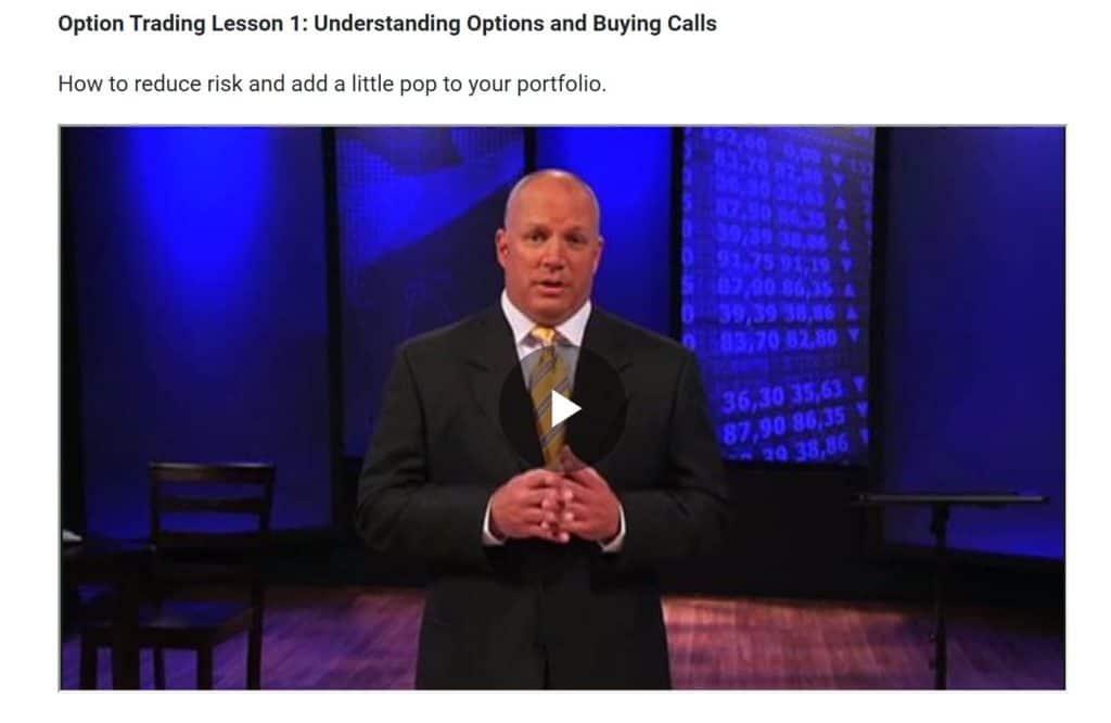 Opciones Vídeos de comercio Trader Jeff Clark