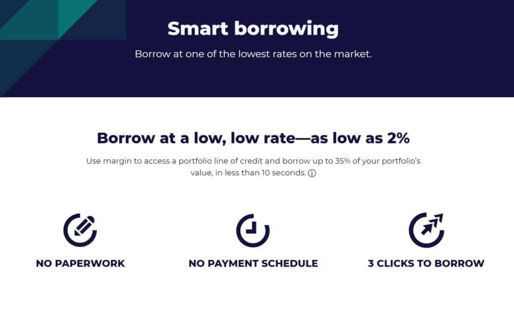 M1 Finance vs. Betterment - M1 Finance Borrow